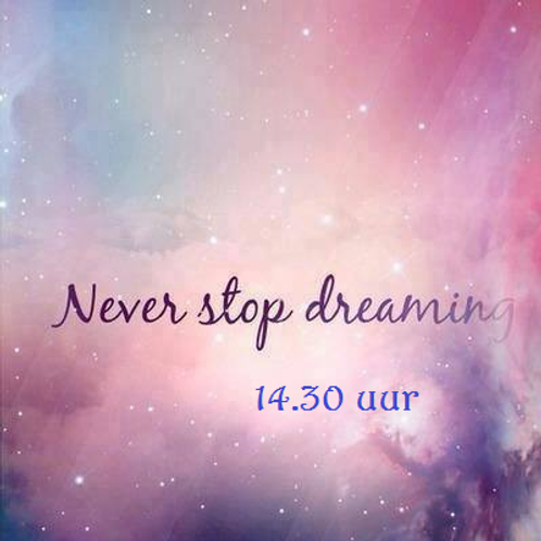 DVD Never Stop Dreaming