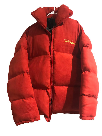 Frost Frill Puffer Jacket