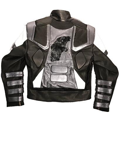 "Leather Jacket ""CLRBLK""  1.5"