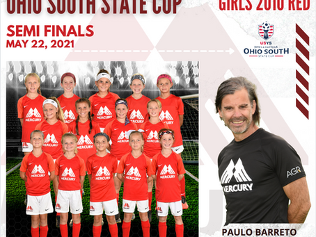 Girls 2010's Will Play in State Cup Semi-Finals