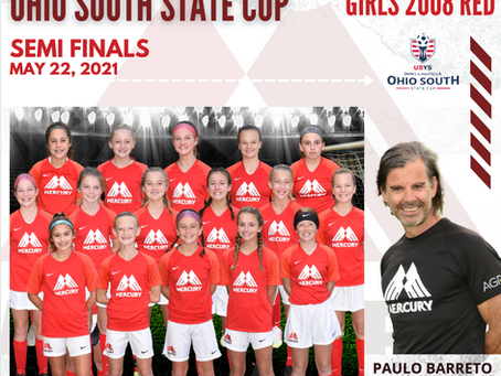 Girls 2008's Make State Cup Semi's