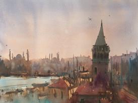 Istanbul Sunset Mood