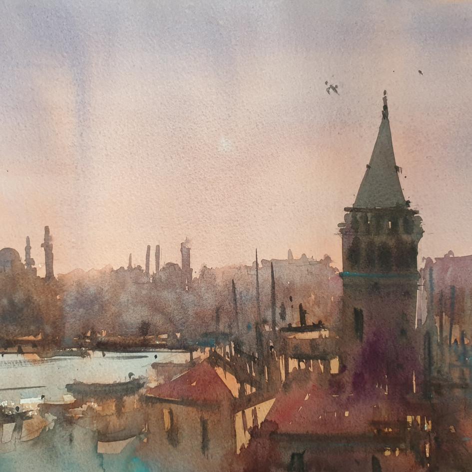 Istanbul Sunset Mood 03.2021