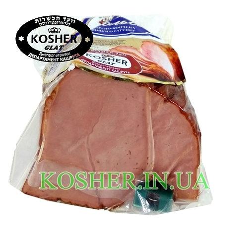 Ветчина кошерная Посольская говяжья в/к в/с,КД, кг