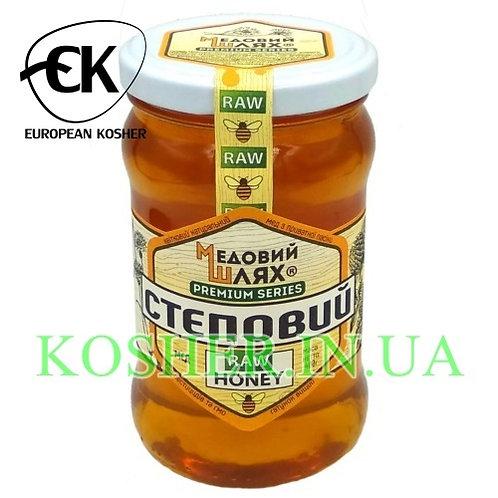 Мед кошерный натуральный Степной, ЗМ, 400г