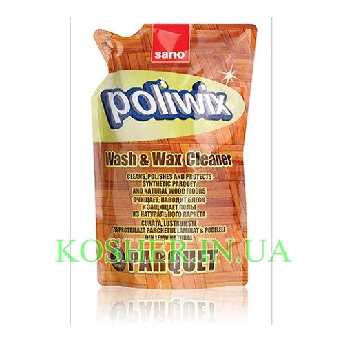 Для мытья пола, Sano Poliwix, Паркет-Ламинат, запаска 1л