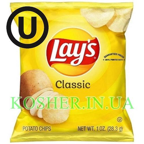 Чипсы кошерные картофельные Classic , Lay's, 28г