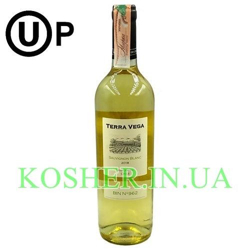 Вино Совиньон Блан белое сухое кошерное на Песах, Terra Vega, 0.75л