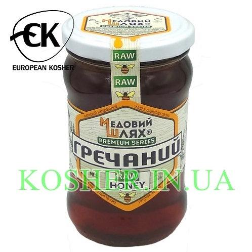 Мед кошерный натуральный Гречишный, ЗМ, 400 г