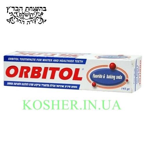 Зубная паста кошерная Отбел. с Содой, Orbitol,145г