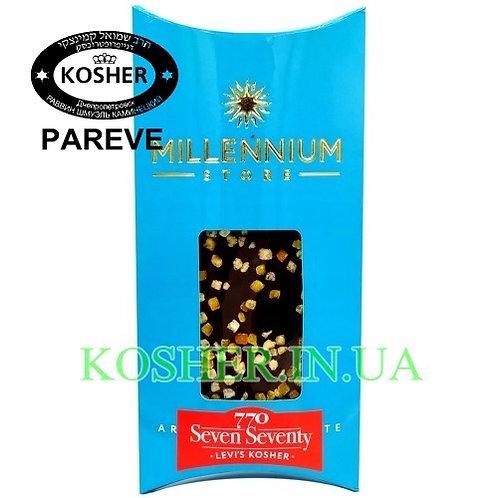 Шоколад кошерный с Цукатами 770 74%, Millenium, 100г / שוקולד עם פירות מסוכרים