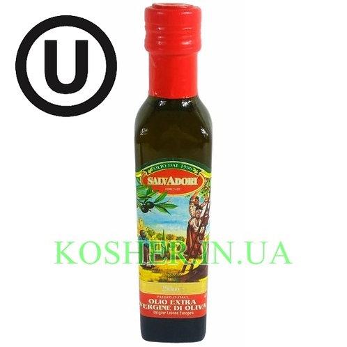 Масло кошерное оливковое Extra Virgin, Salvadori, 250мл