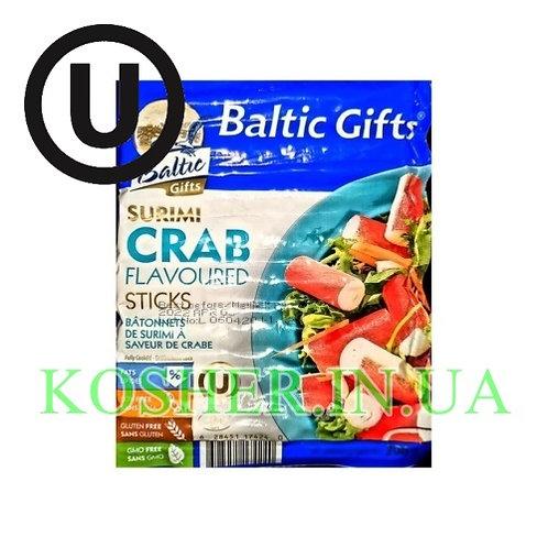Крабовые палочки кошерные, Baltic Gifts, 200г / מקלות סורימי
