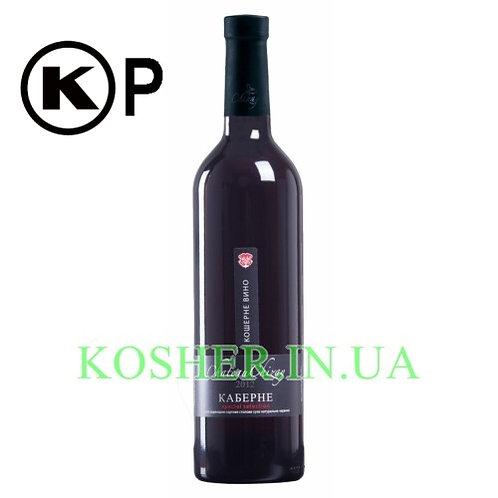Вино кошерное Каберне кр.сух,Chateau Chizay, 0.75л