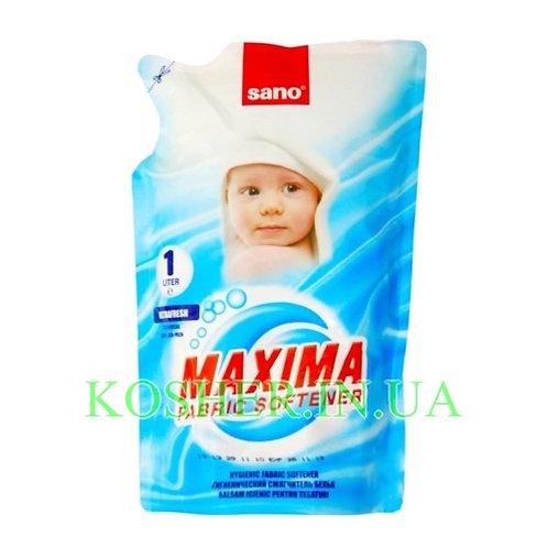 Ополаскиватель Maxima Ultra Fresh запаска, Sano, 1л