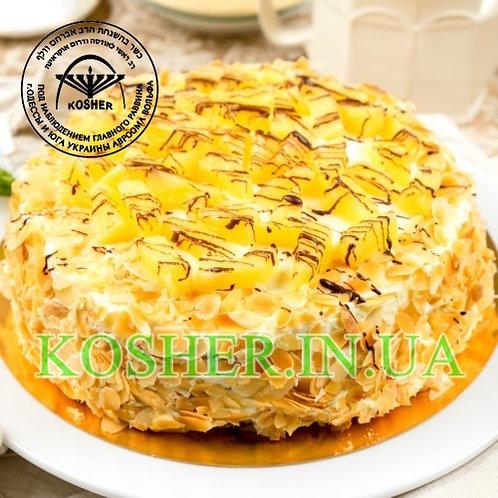Торт кошерный Ананасовый парве, Розмарин, кг / עוגת אננס פרווה