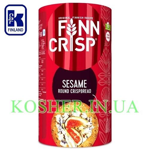 Хлебцы кошерные Круглые с Кунжутом Sesame, Finn Crisp, 250г / פת פריכה שומשום
