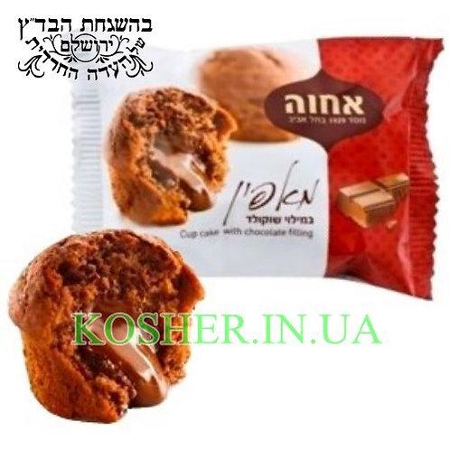 Маффин кошерный Шоколад, Achva, 50г / מאפין בטעם שוקולד