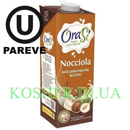 Ореховое молоко кошерное Лесные орехи, OraSi, 1л / חלב שקדים פרווה