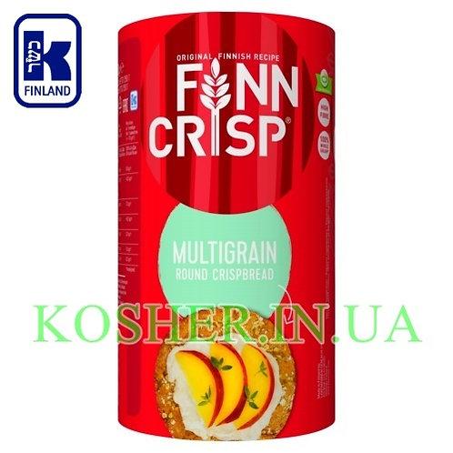 Хлебцы кошерные Круглые Многозерновые Multigrain,Finn Crisp,250г/ פת פריכה רב-דג