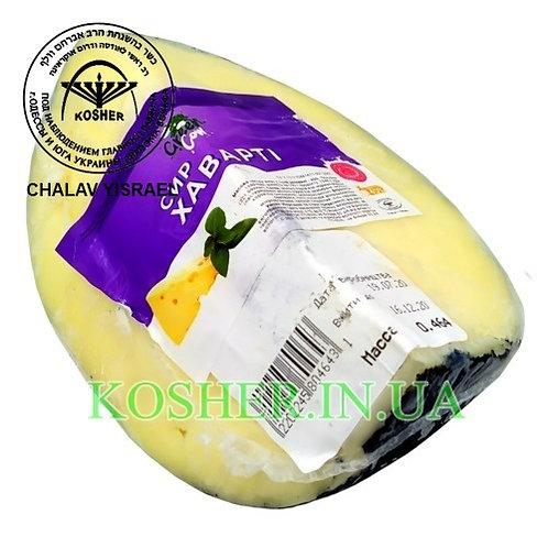 Сыр кошерный Хаварти 50%, Green Cow, кг / גבינת צהובה מגרה
