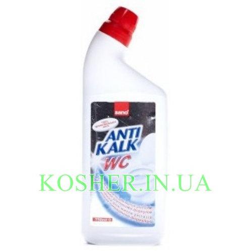 Для чистки Унитазов ANTI KALK WC, Sano, 750мл