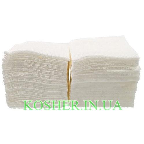Салфетки бумажные белые, уп.(300шт)