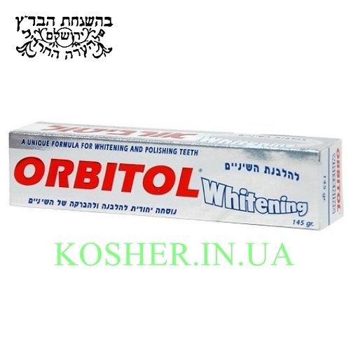 Зубная паста кошерная Отбеливающая, Orbitol, 145г