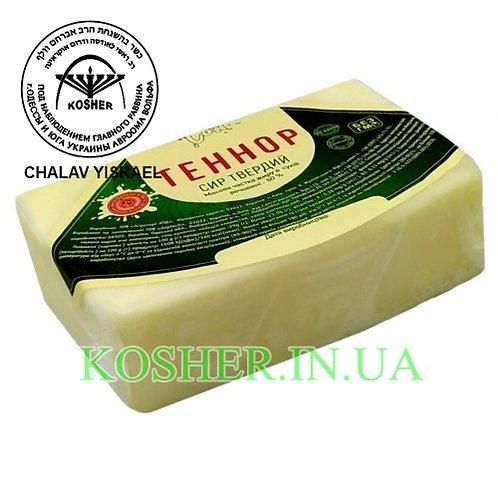 Сыр кошерный Теннор 50% брусок, GreenCow, кг / גבינת צהובה טנור