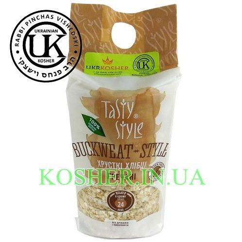 Хлебцы кошерные Гречневые, Tasty Style, 95г / פריכיות כוסמת