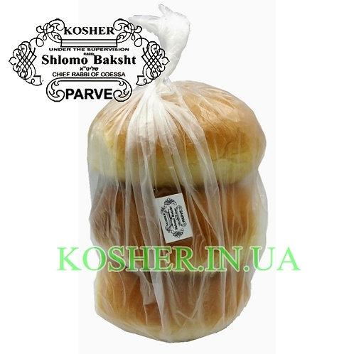 Булочка кошерная Гамбургер пшеничная мезанот, Бэйт Лехем, 90г, 3 шт