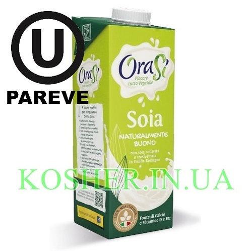 Соевое молоко кошерное Натуральное, OraSi, 1л / חלב סויה פרווה