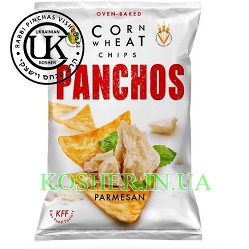 Чипсы кошерные кукурузные Пармезан, PANCHOS, 82г
