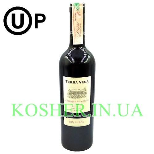 Вино Каберне Совиньон красное сухое кошерное на Песах, Terra Vega, 0.75л