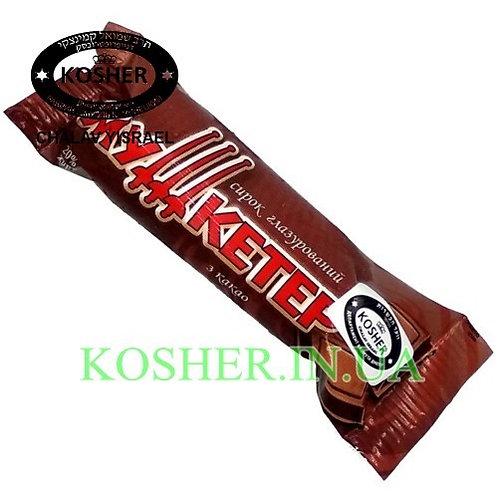 Сырок кошерный с Какао в Шоколаде 20%, Мушкетер, 36г