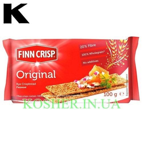 Хлебцы кошерные Ржаные Original, Finn Crisp, 100г / פת פריכה שיפון