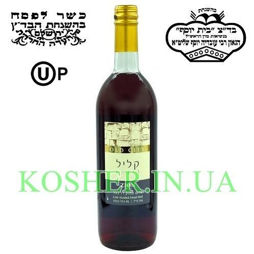 """Вино кошерное на Песах """"Колиль"""" красное сладкое, Zion, 0.75"""