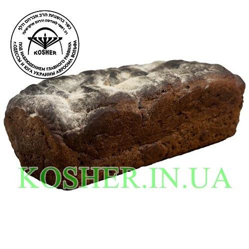 Хлеб кошерный Ржаной на пиве МЕЗАНОТ, Розмарин, 400г / לחם שיפון על בירה
