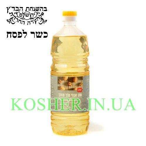 Масло кошер на ПЕСАХ Ореховое рафинированное, Израиль, 1л / שמן אגוזי מלך מזוכך