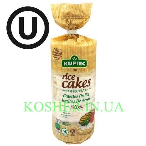 Крекисы кошерные Рисовые, Kupiec, 90г / פריכיות אורז