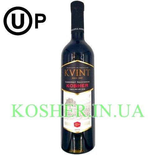Вино кошерное Каберне красное сухое OUp, KVINT, 0.75л