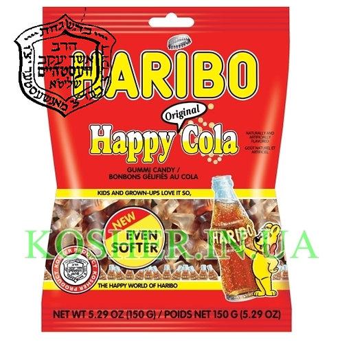 Конфеты жевательные кошерные Happy-Cola, Haribo, 150г / האריבו קולה