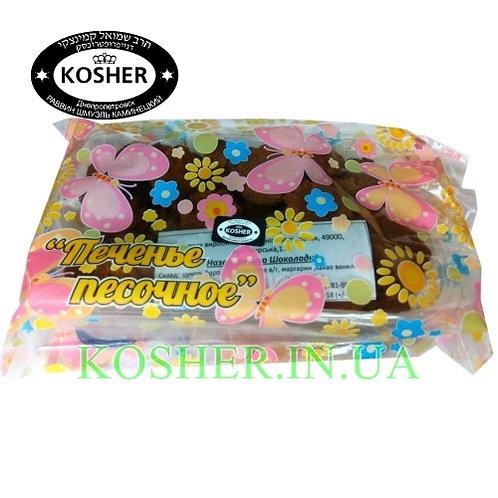 Печенье кошерное  Шоколадное, Конфетти, 250г