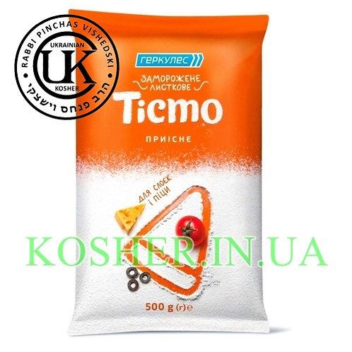 Тесто кошерное слоеное в/с с/м, Геркулес, 500г / בצק עלים