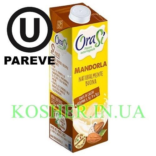 Миндальное молоко кошерное, OraSi, 1л / חלב שקדים פרווה