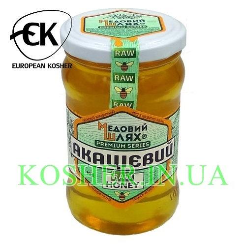 Мед кошерный натуральный Белой Акации, ЗМ, 400г