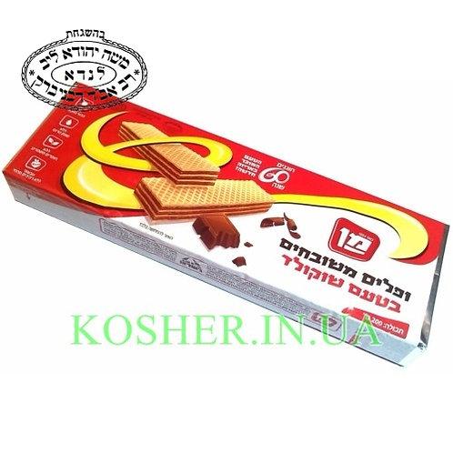 Вафли кошерные Шоколадные, Man, 200г / ופלים בטעם שוקולד