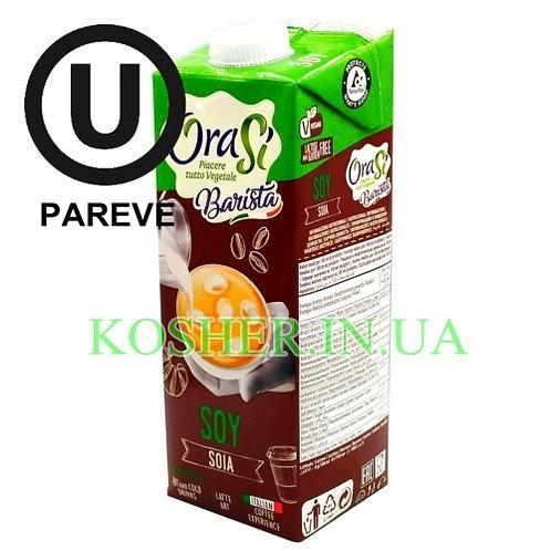 Соевое молоко кошерное Бариста, OraSi, 1л / חלב סויה פרווה