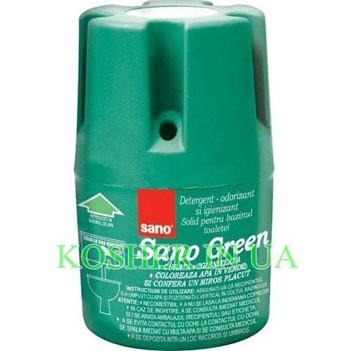 Блок для сливного бачка Green, Sano, 150г