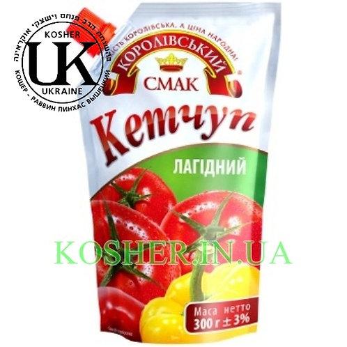 Кетчуп кошерный Нежный, КС, 300г